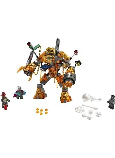 Lego Lego Super Heroes Marvel Molten Man Savaşı 76128 Renkli
